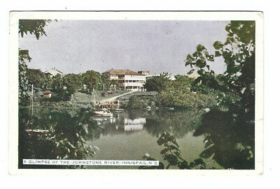 Vintage Postcard A Glimpse of the Johnstone River Innisfail Bert Mathiesen