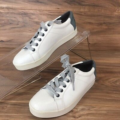 2aba2c22a611 Circus by Sam Edelman Collins Watermelon White Leather Sneaker Shoes Women s  8.5