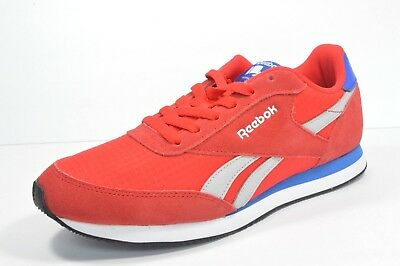 6cd2c15b233 REEBOK Classic Retro BD3281 ROYAL CL JOGGER 2 Men s Shoes Red Blue Size 8  New