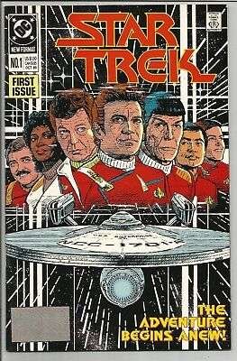 Star Trek #1 October 1989 DC Comics VF if not Better Rare Great Shape