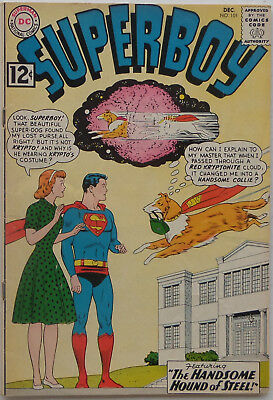 Superboy #101 (Dec 1962, DC), VG, Krypto changed into a collie by Red Kryptonite