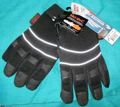 Armor skin Synthetic leather-Water Proof -INSULATED- reflective stripe size L