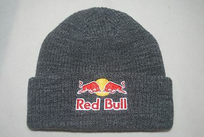 a354225988c New Red bull Beanie Athlete Only Dark Gray WINTER knit hat