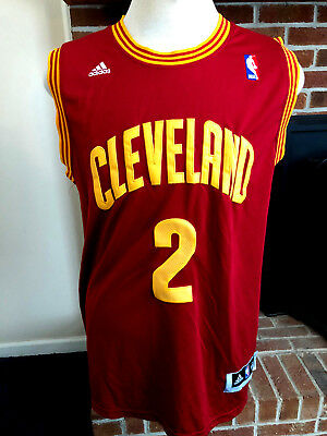 5a476c792 Cleveland Cavaliers Kyrie Irving  2 Basketball Jersey Men s Size XL NBA  Adidas