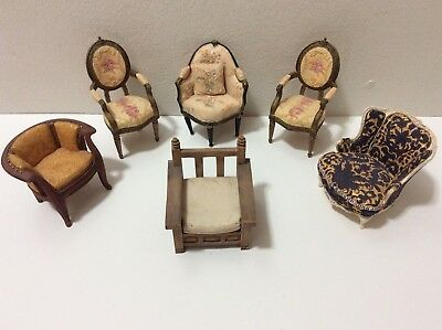 Lot of 6 Take a Seat Raine Chairs Willitts Designs 1999-2000