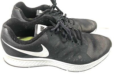 27d0000e8e40 NIKE ZOOM PEGASUS 31 FLASH H20 REPEL BLACK REFLECTIVE RUNNING Size 13 683676 -001