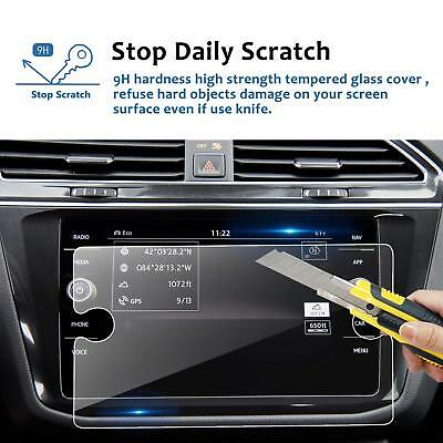 Screen Protector For 2018 Volkswagen Tiguan 8In Car Navigation Tempered Glass