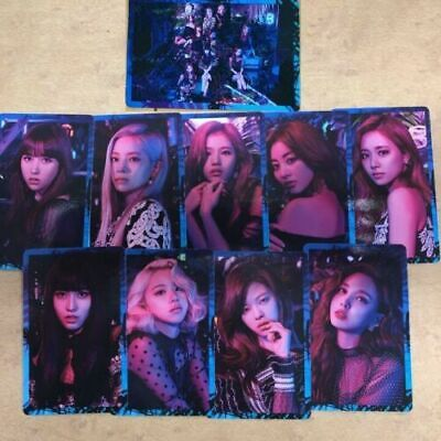 TWICE 5th single Breakthrough official photocard 9 complete full set mina momo