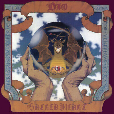 Dio Sacred Heart limited edition CLEAR vinyl LP NEW/SEALED