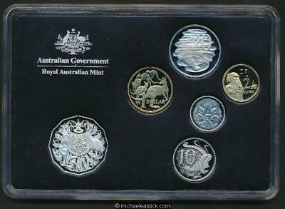 2011 Australia Proof Coin set, lovely presentation by Royal Australian Mint