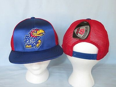uk availability 79b6f 0f85c KANSAS JAYHAWKS Big Satin Snapback CAP HAT T.O.W. Fits All Womens Sizes NWT   25