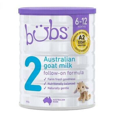 Bubs Goat Follow-On Formula (Stage 2) 800g