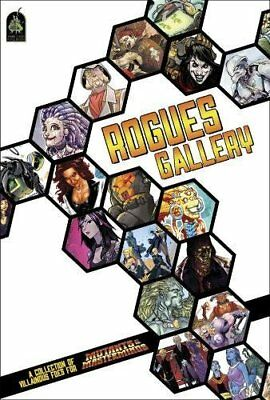 NEW Rogues Gallery: A Mutant & Masterminds Sourcebook by Crystal Fraiser