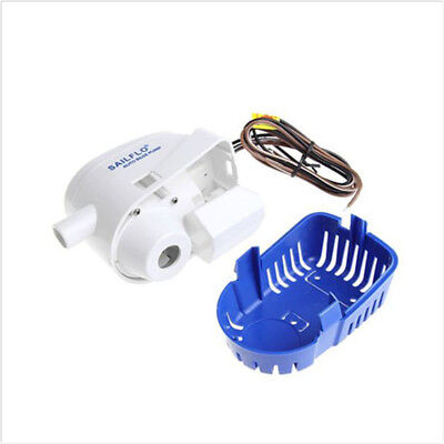 750GPH Boat Marine 12V Automatic Submersible Bilge Auto Water Pump Float Switch