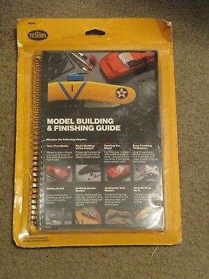 NEW Testors Model Building and Finishing Guide 8820C