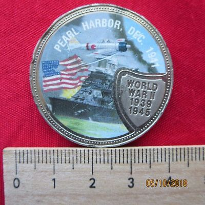 Republic of Liberia - 10 Dollars 2001 - Pearl Harbor Dec 1941 - World War II
