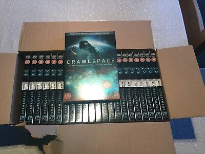 Wholesale Job lot of 92 Brand New DVDs Crawlspace FREE POSTAGE Stock Bundle