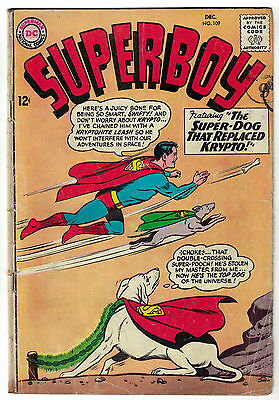 DC Comics SUPERBOY Issue 109 The Super-Dog That Replaced Krypto! VG+
