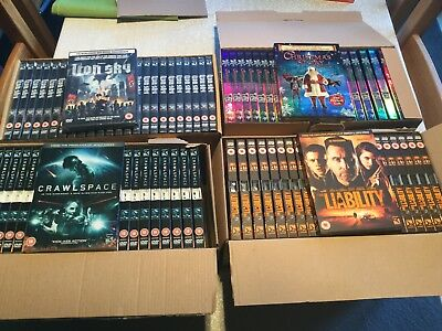 Wholesale Job lot of 93 Brand New DVDs Great Price FREE POSTAGE Stock Bundle