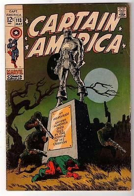 MARVEL Comics VG + 4.5 STRANGE DEATH OF CAPTAIN AMERICA Avengers 113 STERANKO