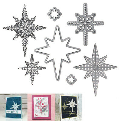 Hot Sale Christmas Stencil Crafts Starlight Card Making Metal Cutting Dies