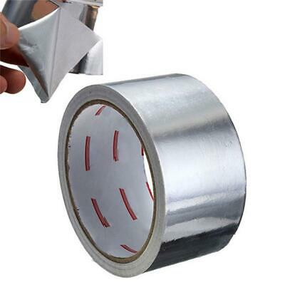 5CM 17M Aluminium Foil Tape Big Roll Self Adhesive Insulation Reflective Duct ZT