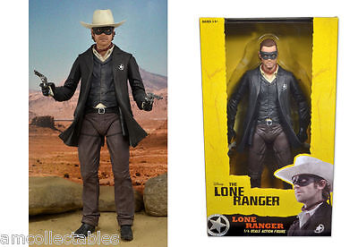 Neca Disney - the Lone Ranger - 1/4 Scale Action Figure - Nip