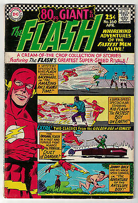 DC Comics THE FLASH Issue 160 Whirlwind Adventures Of The Fastest Man Alive! FN-