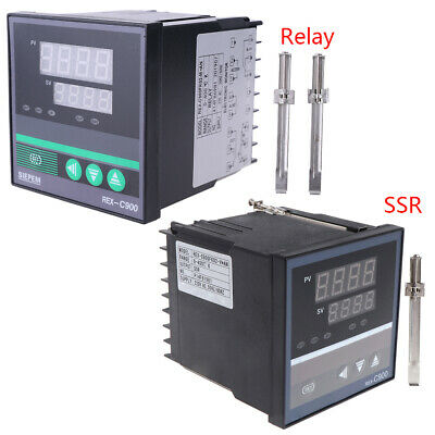 PID Temperature Controller Universal REX-C900 Input SSR Relay Output 96*96mm New