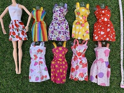 Popular Barbie Doll sized Cloth/Acessory-ONE pc Casual Dress-ON SALE-BEST SELL**