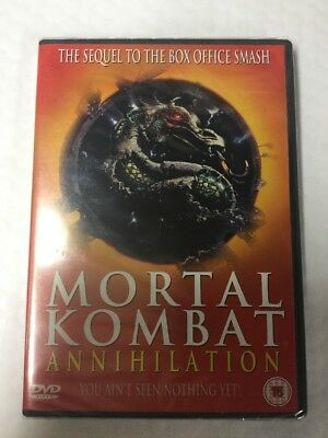 Mortal Kombat - Annihilation DVD 1999 NEW Free Postage Rare Christmas Gift Idea