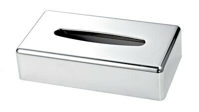 Chrome Rectangle Tissue Box Cover (Case Qty 6) by Corby