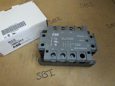 ABB Solid State Relay 1SAR131055R4914 R315.55 275 VAC 50 VDC 55 Amp New
