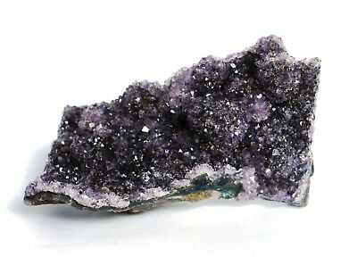 REIKI CHARGED COLLECTOR GRADE AMETHYST DRUZY CRYSTAL STONE NATURAL PIECE 258g