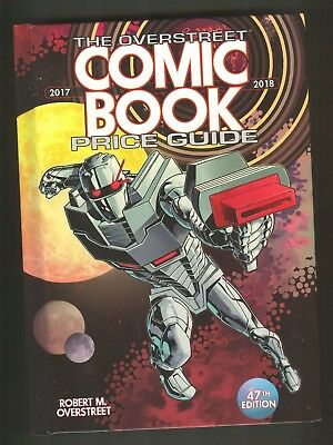 OVERSTREET 2017 2018 COMIC BOOK PRICE GUIDE #47 HARDCOVER Rodriguez ROM Cover HC