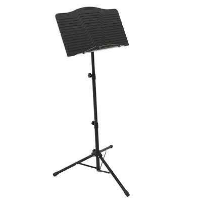Professional Orchestral Sheet Music Holder Metal Stand for Performance