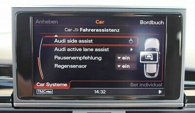 Spurwechselassistent (Audi side assist)  für Audi A6 4G