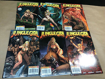JUNGLE GIRL 0,1-5 Lot of 6 Comics RANK CHO DYNAMITE 0 1 2 3 4 5