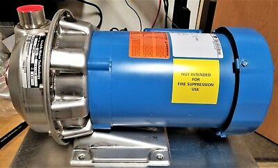 GOULDS 1ST1E6D6 Stainless Centrifugal Pump 170 GPM, 150 ft. Head, 1HP, 3 Phase