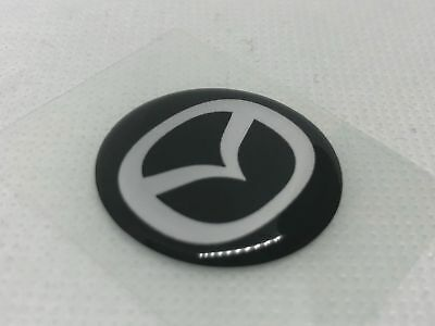 2 pcs Nissan logo badge sticker 30mm Domed 3D Stickers//Decals.