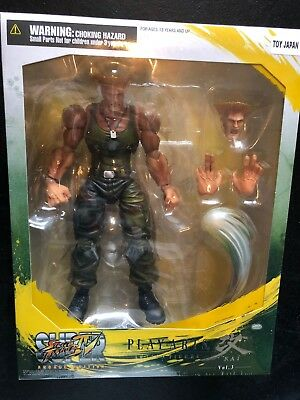 "Square Enix Street Fighter 4 IV ""Guile"" Play Arts Kai Action Figure"