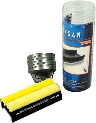 Roksan Two Stage Micro Fibre Record Cleaning Brush Vinyl LP Care Clean