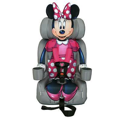 Kids Embrace Disney Minnie Mouse Combination Harness Booster Toddler Car Seat