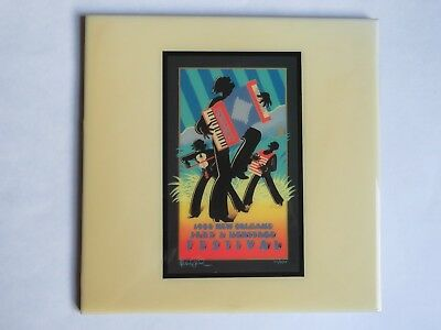 Festival TILE ~ New Orleans Jazz & Heritage Fest ~ Kevin Combs 1988 Cajun South