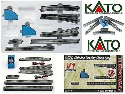 KATO 20-860 START-SET V1 N.10 TRACKS+2 EXCHANGE ELECTRIC Right Left+2 COMMANDS