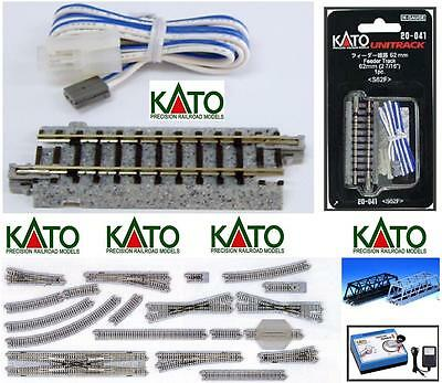 KATO 20-041 binary POWER SUPPLY mm.62 UNIVERSAL with cable Cm.90 LADDER-N