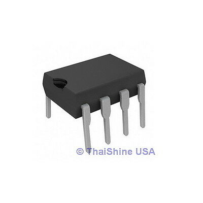 10 x TL072 LOW NOISE J-FET DUAL OP-AMP IC - USA Seller - Free Shipping