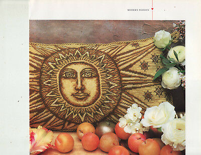 Icon of Divine Light Sun Candace Bahouth Tapestry Needlepoint Chart