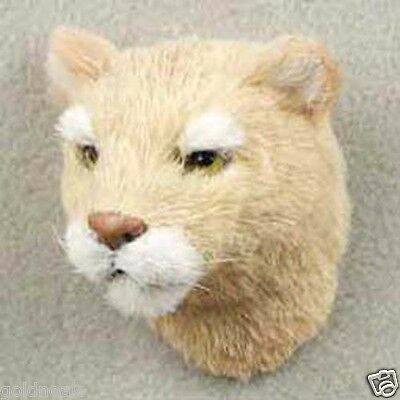 One Cougar Furlike Animal Magnet. Gift Box Included. Holiday Gifts?