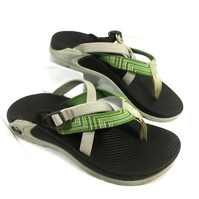 2c6f5ac286476b CHACO HIPTHONG ECOTREAD Brown Thong Sport Sandals Slides Women s sz ...